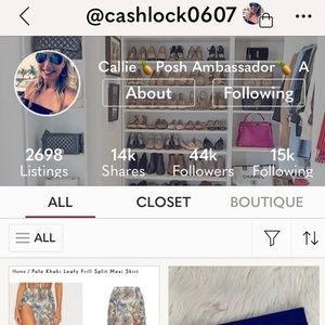 FOLLOW MY DAUGHTER! She has all the latest styles!